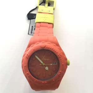 Orologio Toy Watch in caucciù arancione