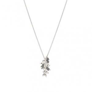 Collana Argento Diamanti Rebecca collezione Jolie Foglie