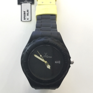 Orologio Toy Watch caucciù nero