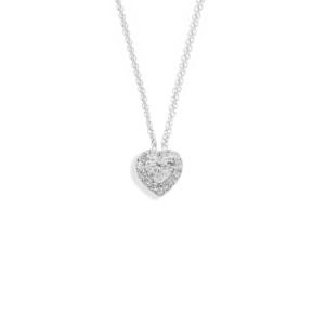 Collana in oro e diamanti collezione Love