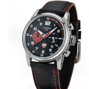 Orologio Locman Ducati Cassa 42 mm in acciaio satinato e dettagli lucidi