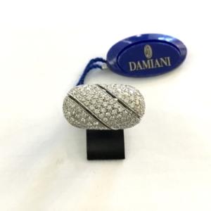 Anello Damiani in Oro 18 Kt e Diamanti Ct 2,38