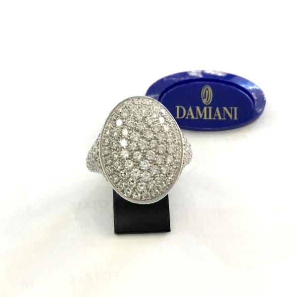 Anello Damiani in Oro 18 Kt e Diamanti Ct 2,60