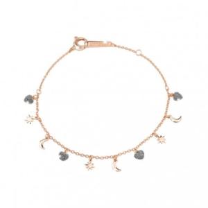 Bracciale In Argento e Diamanti Rebecca Collezione Jolie