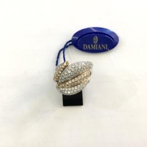 Anello Damiani in Oro 18Kt e Diamanti Ct 2,12